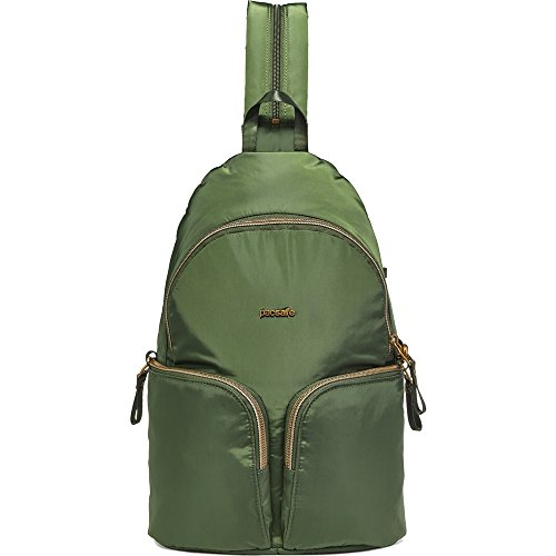 - Pacsafe Stylesafe Anti-Theft Convertible Sling to Backpack - Kombu Green