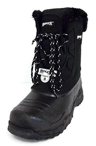 Ranger Womens A629 Sparrow Snow Boot Black (9)