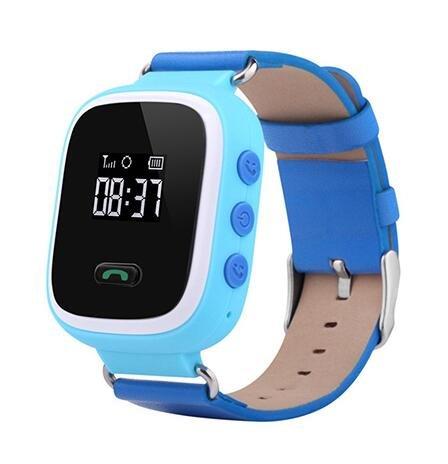 Q60 Kid GPS Reloj Inteligente Reloj de Pulsera SOS Llamada ...