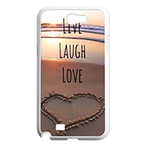 Live Laugh Love Unique Design Cover Case for Samsung Galaxy Note 2 N7100,custom case cover ygtg576380