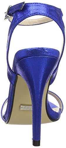 Quiz Barely There Electric Heeled Sandals - Zapatos Mujer Azul (Royal Blue)