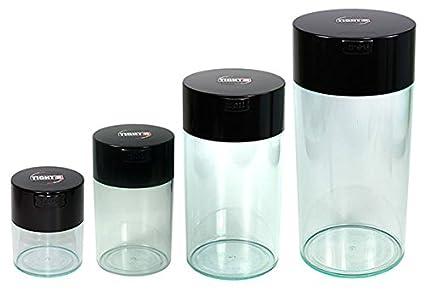 Amazon Com Tightvac Nested Set Of 4 Vacuum Sealed Dry Goods