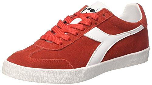 Italia Men's Original B Rosso Ferrari Bianco Gymnastics Vlz Red Shoes Diadora zwSqRdS