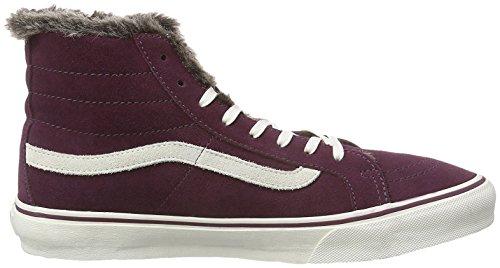 Vans Sneaker High U Sk8-hi Prugna / Bianco Eu 34.5 (us 3.5)
