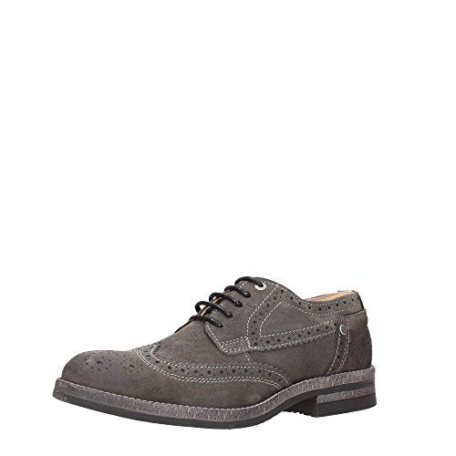 Wrangler Stone, Zapatos de Cordones Derby para Hombre Gris