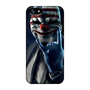 New Premium GAwilliam Payday 2 Mask Skin Case Cover Excellent Fitted For Iphone 5/5s