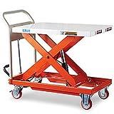 Mobile Lift Table, 881-Lb. Capacity, 19.7''Wx31.5''D Platform