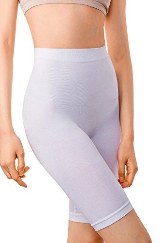 MD Women's Light Control Shapewear Mid-Thigh High Waist Body Shaper Slimmer Plus Size