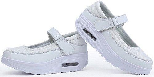 Chaussures De Marche Pour Femmes Mode Casual Chaussures De Sport Baskets Blanches