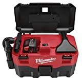 MILWAUKEE ELECTRIC TOOL 0880-20 Cordless Lithium-Ion Wet/Dry Vaccum CLEANER, 15.75'' x 22.5'' x 11.5''
