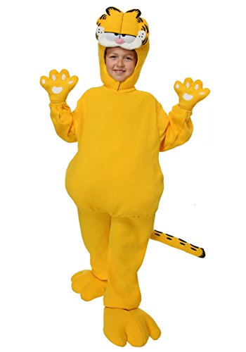 Big Boys' Garfield Costume Medium]()