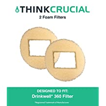 2 Drinkwell Pre Filters Fit 360 Plastic Pet Fountains, by Think Crucial