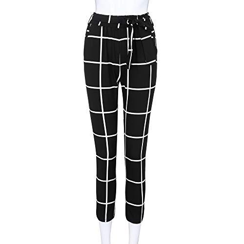 Femmes Pour Et Taille Longra À Unique 2018 Élastique Noir Pantalon Décontracté WpRn4p6