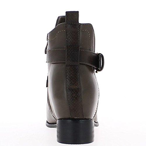 Stivali bassa donna talpa 3, stelo 5cm elastico tallone