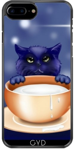 Coque pour Iphone 7 Plus / 8 Plus (5,5'') - Fantaisie Chat Chaton Bébé Animal by WonderfulDreamPicture