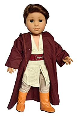 My Brittany's Galactic Costume for American Girl Dolls Includes Boots- 18 Inch Doll Clothes for American Girl Boy and Girl Dolls