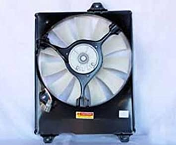 NEW AC CONDENSER FAN ASSEMBLY FITS 1998-2003 TOYOTA SIENNA MARK T1 16361-0A090