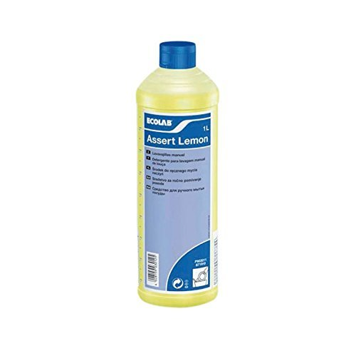 Ecolab Washing up liquid. Assert lemon 1 ltr bottle by Ecolab by Ecolab