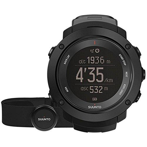 Suunto SS021964000  Ambit3 Vertical HR Monitor Running GPS Unit, Black by Suunto