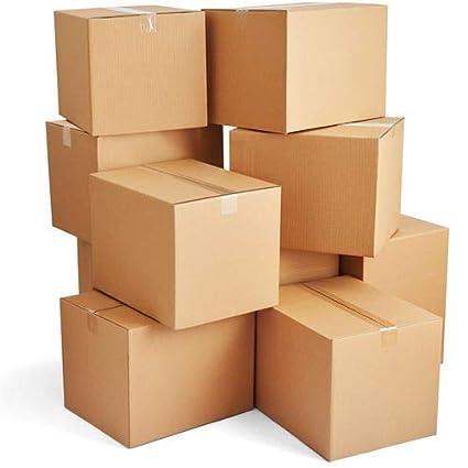 Cajas de embalaje mudanza de cartón para mudanza, cajas de embalaje resistentes, color marrón
