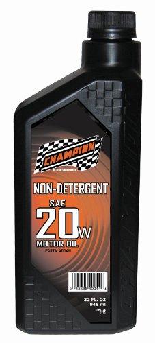 UPC 043685400444, Champion Brands 4004H Non-Detergent 20W-20 Motor Oil - 1 Quart Bottle
