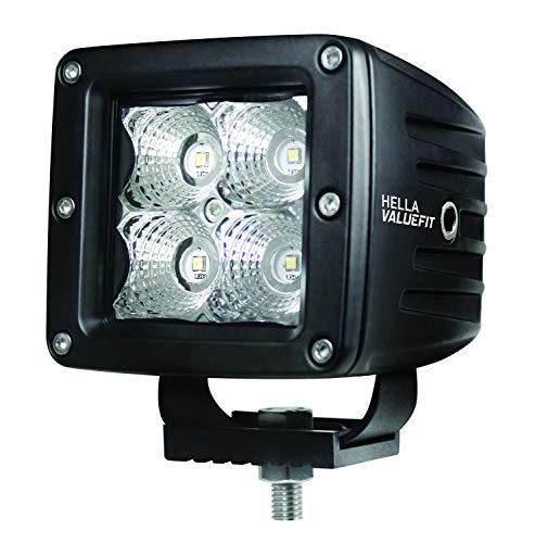 HELLA 357204831 Value Fit Cube Flood Beam Kit (4 LED) -