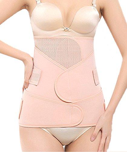 DODOING 3 in 1 Postpartum Girdle C Section Corset-Recovery Belly/Waist/Pelvis Belt Body Shaper Postnatal Shapewear