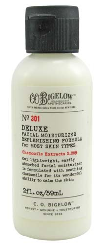 Bigelow Moisturizing Moisturizer - C.O. Bigelow Deluxe Facial Moisturizer Replenishing Formula For Most Skin Types Formula No. 301 2 oz as sold by Bath & Body Works