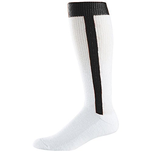 - Augusta Sportswear Baseball Stirrup Socks (7-9) Black