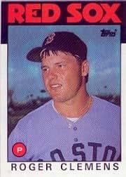1986 Topps Roger Clemens Baseball Card #661