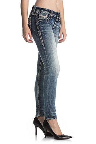 Femme Skinny S202 Revival Denim Jean Arya Rock q6wXxEZw