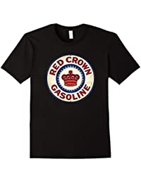 Vintage Gas and Oil Crown Sign T-Shirt