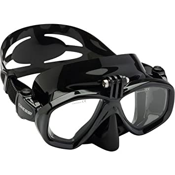 Cressi Action, máscara de buceo para cámara GoPro Unisex: Amazon