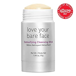 Julep Love Your Bare Face Detoxifying Cleansing Balm Stick, Exfoliating Face Wash 1.9 ounce
