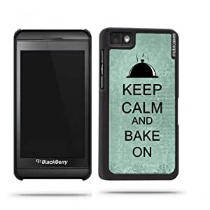 Keep Calm And Bake On Teal-Floral Google Nexus 4 Case - For Nexus 4