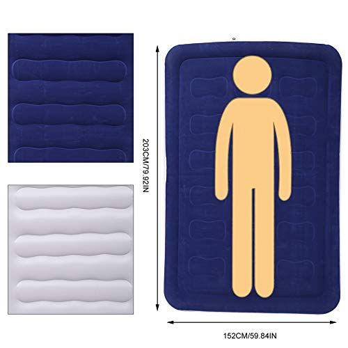 Peppydazi 203x152x46CM Outdoor Air Mattress Double Person Comfortable Inflatable Cushion by Peppydazi (Image #4)