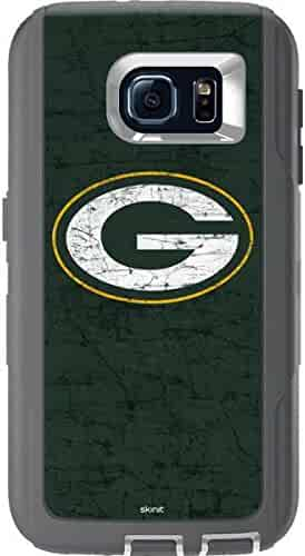e7d4d729cca Skinit NFL Green Bay Packers OtterBox Defender Galaxy S6 Skin - Green Bay  Packers Distressed Design