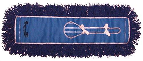 Golden Star AJU24CITB Jumbo Infinity Twist Dust Mop Head, 5'' x 24'', Blue (Pack of 12) by GoldenStar