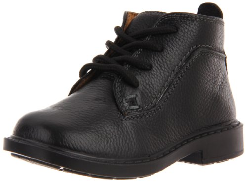 Hush Puppies Bowdoin Lace-Up Boot (Toddler/Little Kid/Big Kid),Black Multi,12.5 MW US Little Kid ()