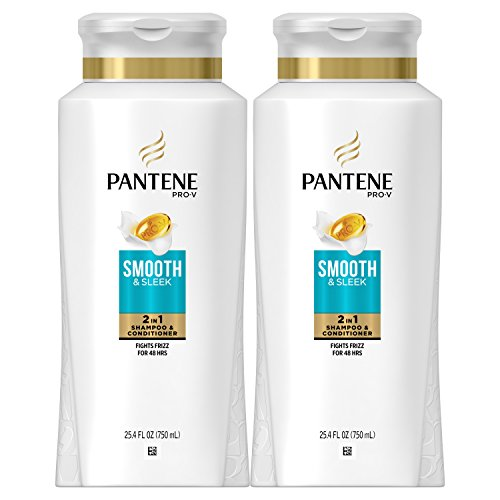 Pantene, Shampoo and Conditioner 2 in 1, Pro-V Smooth and Sl