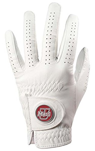 Massachusetts Minutemen Golf Glove & Ball Marker - Left Hand - XX Large (Minutemen Golf)