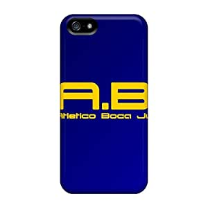 Great Hard Cell-phone Cases For Apple Iphone 5/5s With Support Your Personal Customized Attractive Boca Juniors Series RandileeStewart