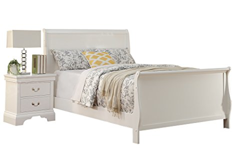 Poundex PDEX-F9254F Beds, White