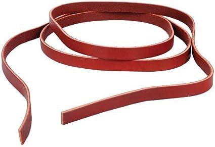 "Set of 4 Latigo Saddle Strings Leather Straps 1//2/"" x 48/"" Weaver Ties Horse Tack"