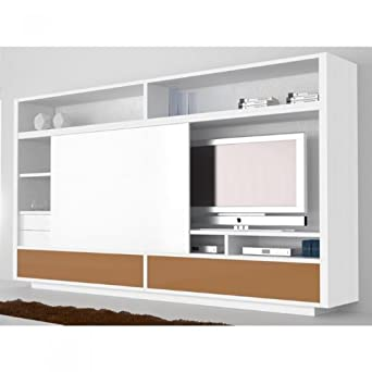 Meuble Tv Bronze Slide Une Exclu Atylia Couleur Blanc Matiere