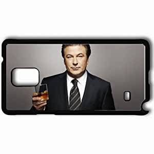 taoyix diy Personalized Samsung Note 4 Cell phone Case/Cover Skin Alec baldwin actors famous for being star of my sisters keeper and its complicated and nbcs 30 rock Black