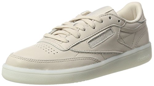 Reebok Damen Club C 85 Gymnastikschuhe Elfenbein (Face-moonwhite)