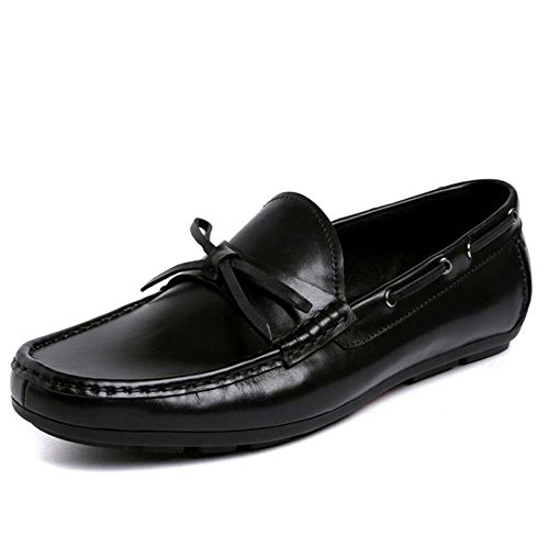 Dress Shoes Shoes Feet Business Casual Large Shoes nero da Comode Size Lazy Uomo Shoes MYI Driving Scarpe Low x6nqH8R1IR