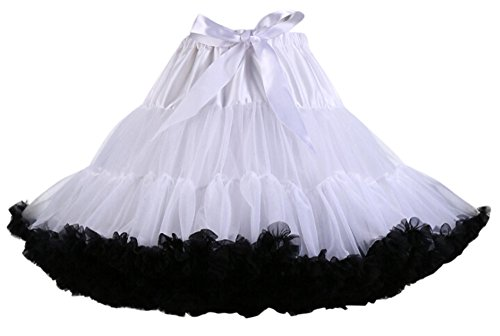 [Booty Gal Women Short Petticoat Crinoline Underskirt Costumes Tutus Skirt] (Tutu Halloween Costumes For Teenage Girls)