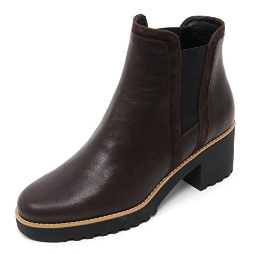 Woman Route Shoe Scarpe Hogan Marrone Donna 277 Marrone Scuro B7410 Boot Tronchetto Scuro 6qvOxSFU